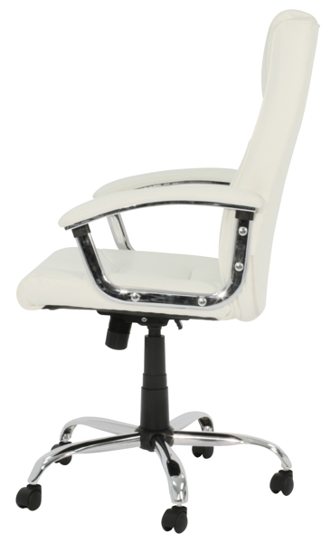 cream office chair cream leather office chaircream faux leather